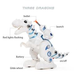 Fjärrkontroll Dinosaur Robot för barn Intelligenta ljudleksaker