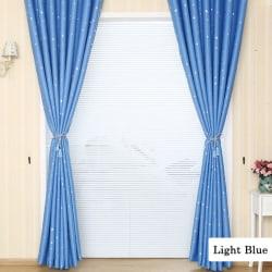 Room Star Curtain Decorative Home Room Curtains light blue l 250cm