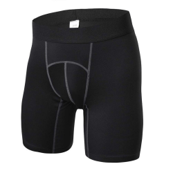 Shorts Men Gym Tights Compression Shorts Sport Men Home Running black M