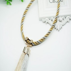 Simple Style Curtain Tassels Bandage Buckle hm