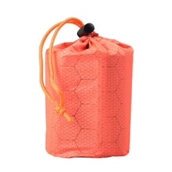 Sleeping Bag Storage Stuff Sack Organizer Camping Hiking Travel orange