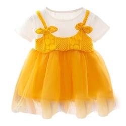 Sommar ny baby flicka prinsessa klänning