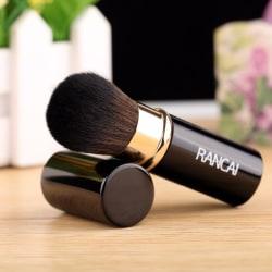 Telescop Retractable Makeup Brushes Powder Foundation Blush Face black