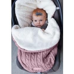 Tjockare baby form väska inomhus barnvagn sovsäck