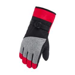 Unisex Waterproof Snow Gloves Women Men Winter Ski Warm Gloves