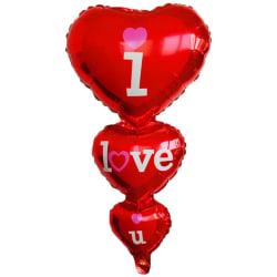 Valentine Day Love Heart Red Balloon Wedding Party Decoration red 96x49cm
