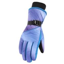 Winter Skiing Gloves Girls Boys Adult Waterproof Warm Gloves