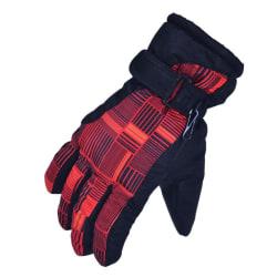 Women Waterproof Ski Gloves Winter Snowboard Cycling Gloves