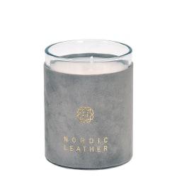 Doftljus Nordic Leather Grå Rose Grey