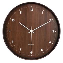 Klocka Brun 30 cm Brown