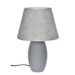 Lampa bord grå keramik H39 cm Grey