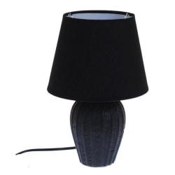 Lampa bord svart keramik H32 cm MultiColor