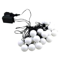 LED-slinga Klot 20 lampor 8 meter White