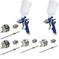 2 ECD Germany HVLP sprutpistol 2 x 0,8 mm x 0,5 mm x 1,0 mm