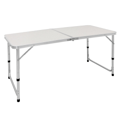 ECD Germany campingbord fällbart bord med handtag 120x60x55 /