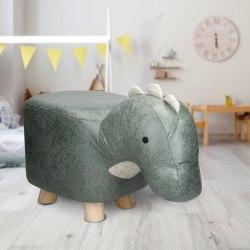 ECD Germany djurpall för barn 51x25x35 cm dinosaurie konstläder