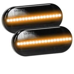 LED sido markörer indikatorer Smoke 2 st VW Golf 4 Passat Polo
