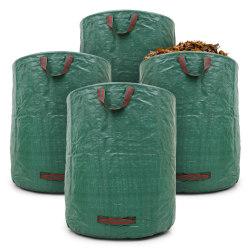 Trädgård bag blad väska gräsuppsamlaren trädgårdsavfall väska