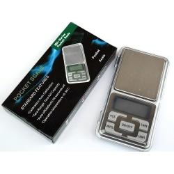 Pocket Våg/Fick Våg Digital 200g/0.01g - Batteri ingår -