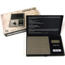 Pocket Våg/Fick Våg Digital 500g/0.01g - Batteri ingår -