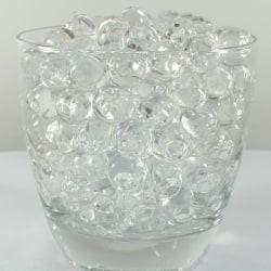 4000 förp Vatten kristaller 0,8-1 cm transparent transparent