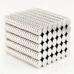 50 st superstarka runda magneter neodym
