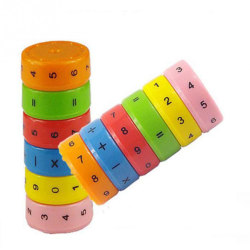 6st/förp barn utbildning magnetisk matematik