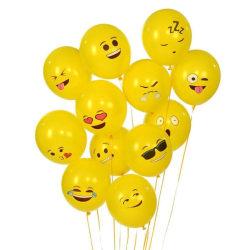10-pack Emoji ballonger