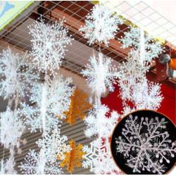20-pack snöflingor dekoration | Jul