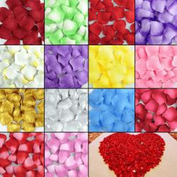 500-pack Rosenblad olika färger rosa