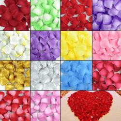 500-pack Rosenblad olika färger Röda/rosa