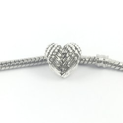 Angel hjärta berlock passar till Pandora