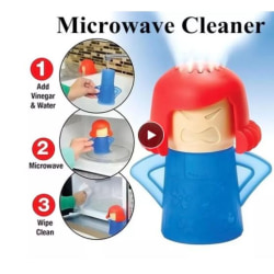 Angry mama | Få din Mikrovågsugn skinande ren!