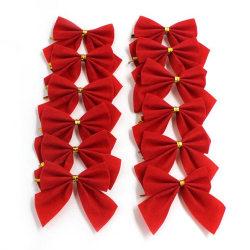 Julrosett röd 12-pack