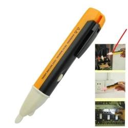 Spänningsprovare  Penna med LED ficklampa