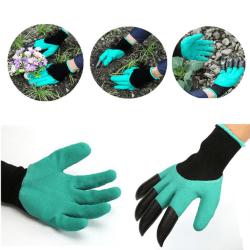 Trädgårdshandskar| Gräv och plantera utan spade!