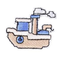 Applikation Tygmärke Båt