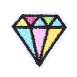 Applikation Tygmärke Diamant