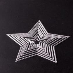 Stans / Dies till Scrapbooking  Stjärnor 8 st
