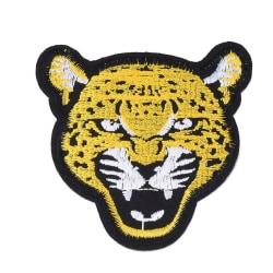 Stryka på Tygmärke  Leopard