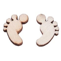 Trädekorationer Fötter 20 st