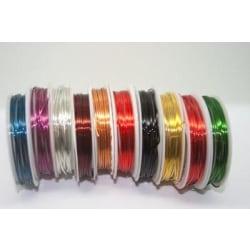 Wire Tråd 1mm Koppartråd - Välj Färg Silver