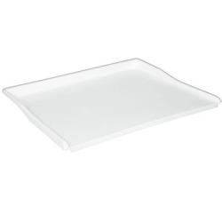Bakbord Plast 600X500 mm Vit