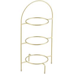 Cult Design Tallriksställ/trippelställ S Guld