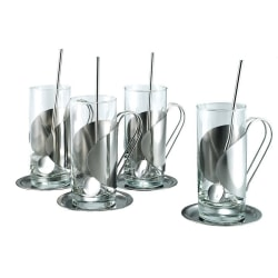 Darry Irish Coffee set 4-pack Metall utseende