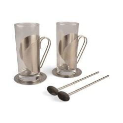 Irish Coffee Set 6 delar Silver