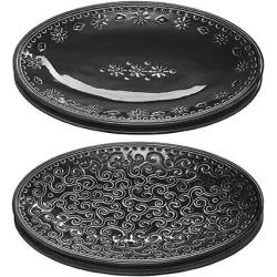 Orient Tapas tallrikar 4-set Black Tapas tallrikar