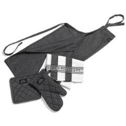 Pillivuyt förkläde/gift set 6 delar  grå