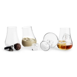 Sagaform Giftset Club Avecglas med rund botten 4-p  Transparent