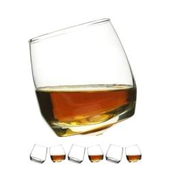 Sagaform Whiskeyglas med rundad botten, 6-pack Kristall